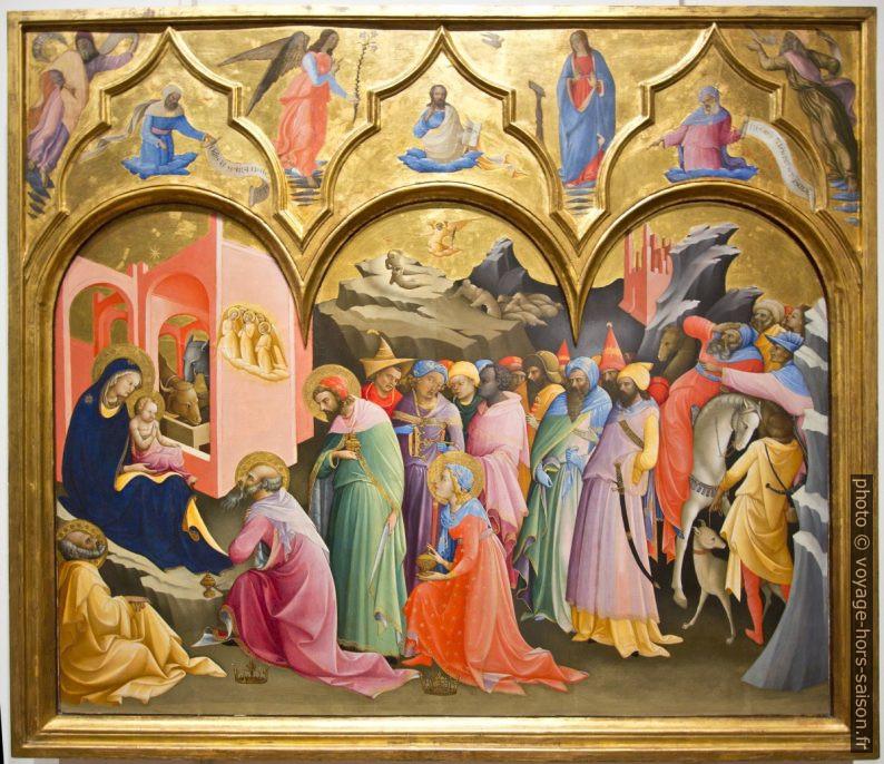 Adorazione dei Magi, Laurenzo Monaco, vers 1420. Photo © André M. Winter