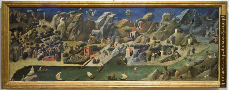 Vite dei santi padri nel deserto, Beato Angelico, vers 1420. Photo © André M. Winter