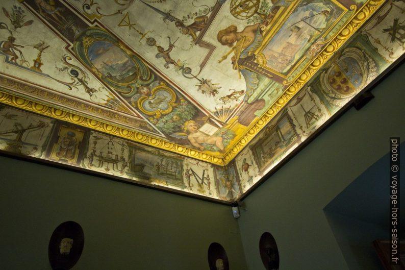 Voûtes peintes des Galeries des Offices. Photo © André M. Winter
