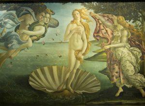 La Naissance de Vénus, Botticelli, vers 1485. Photo © André M. Winter