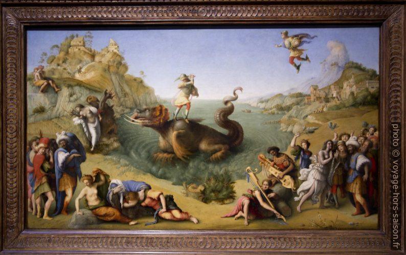 Liberazione di Andromedia, Piero di Consimo, vers 1510. Photo © André M. Winter