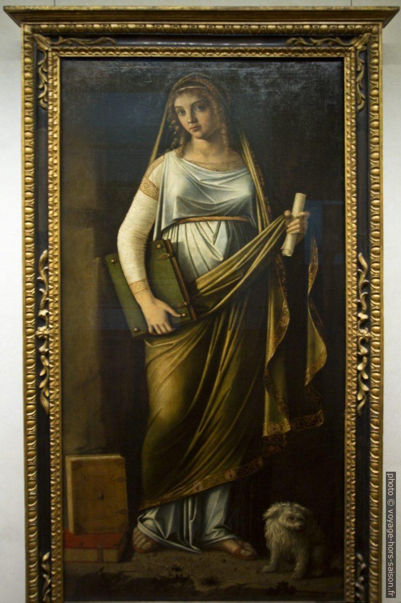 attr. Sibilla, attr. Niccoló Rondinelli, vers 1511. Photo © André M. Winter