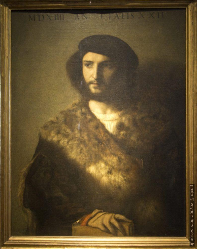 Ritratto virile, Tiziano, 1514. Photo © André M. Winter