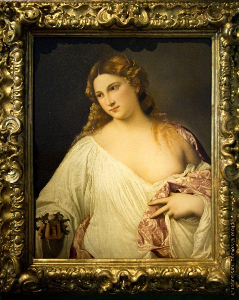 Flora, Tiziano, vers 1515. Photo © André M. Winter