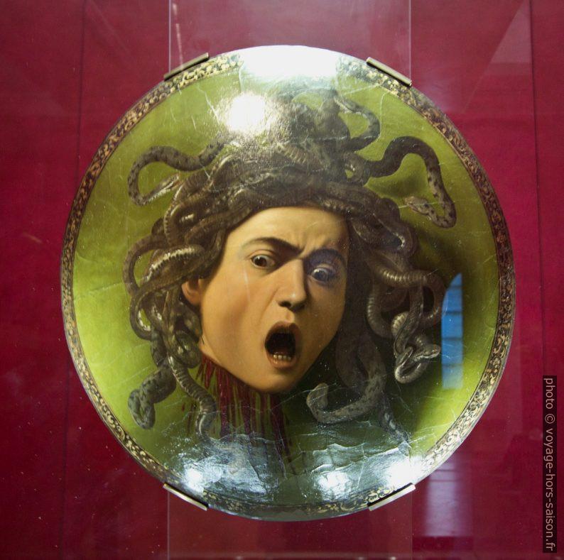 Medusa, Caravaggio, vars 1595. Photo © André M. Winter