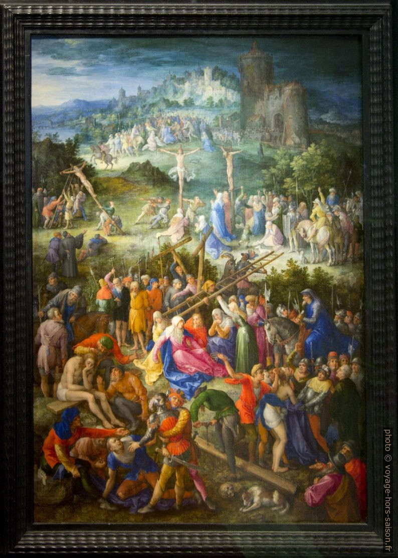 Le Grand calvaire, Jan Brueghel l'Ancien, 1604. Photo © André M. Winter