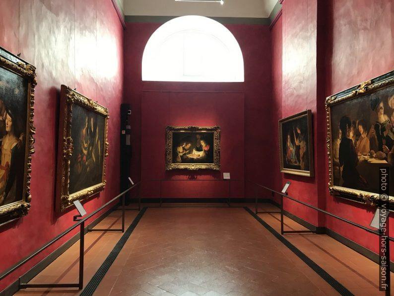 Salle avec le tableau Adorazione del Bambino. Photo © André M. Winter
