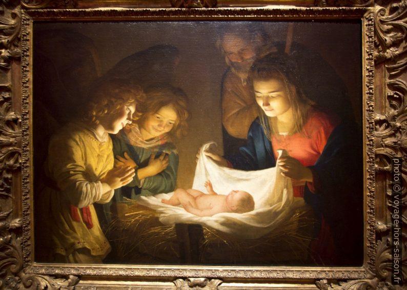 Adorazione del Bambino, Gherardo delle Notti, vers 1619. Photo © André M. Winter