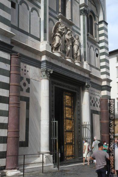 La Porte du Paradis Baptistère Saint-Jean de Florence entr'ouverte. Photo © Alex Medwedeff