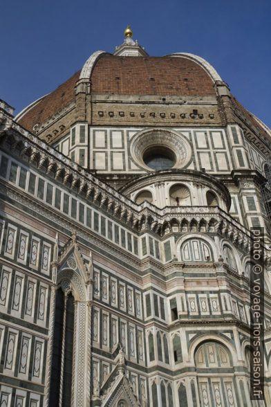 La coupole de la cathédrale de Florence vue du sud-ouest. Photo © André M. Winter