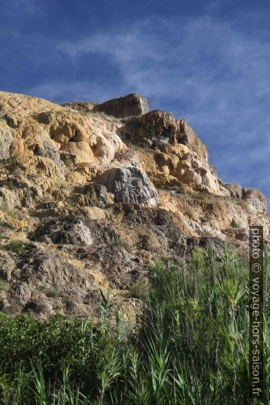 Cascade de tuf de Bagno Vignoni. Photo © Alex Medwedeff