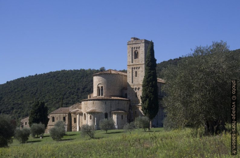Abbaye de Sant'Antimo. Photo © André M. Winter