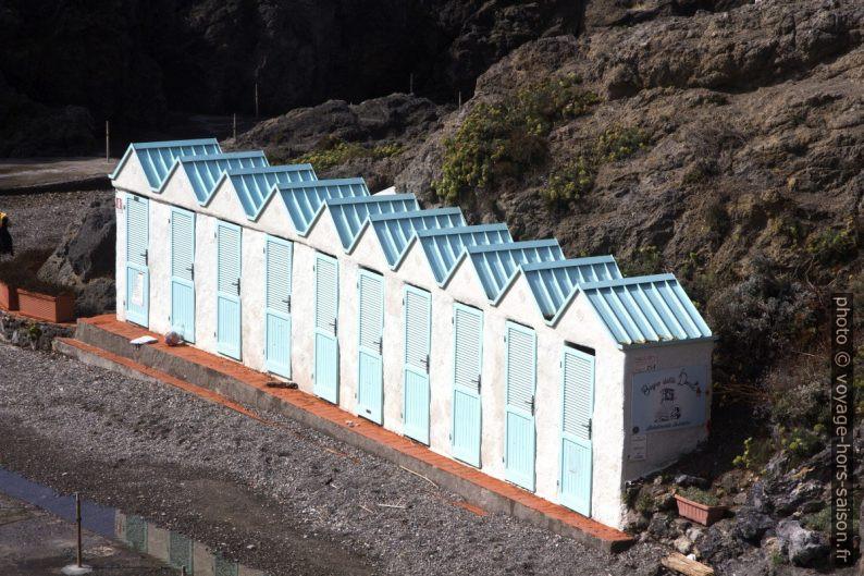 Cabines du Bagno Delle Donne. Photo © André M. Winter