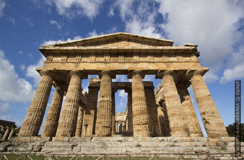 Le Temple de Poséidon de Paestum. Photo © André M. Winter