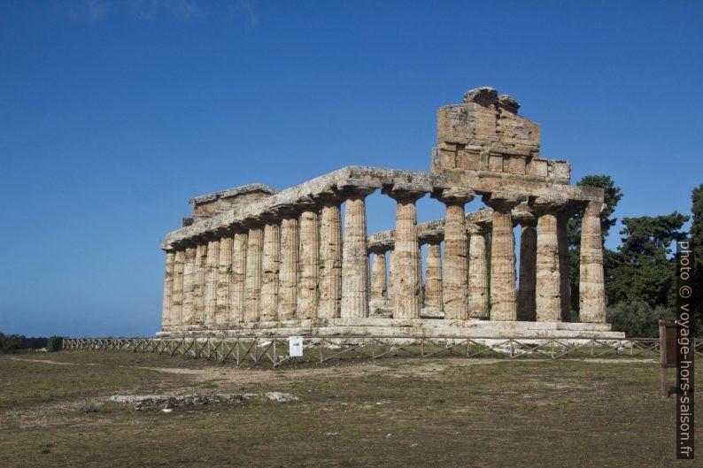 Temple d'Athéna de Paestum. Photo © André M. Winter