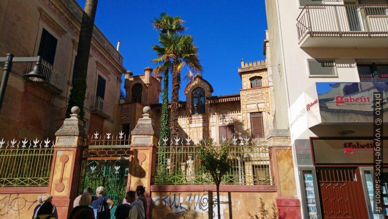 L'ésotérisme de la Villa Cuscianna à Matera. Photo © André M. Winter