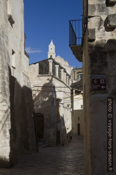 La Via Fiorentini à Matera. Photo © Alex Medwedeff