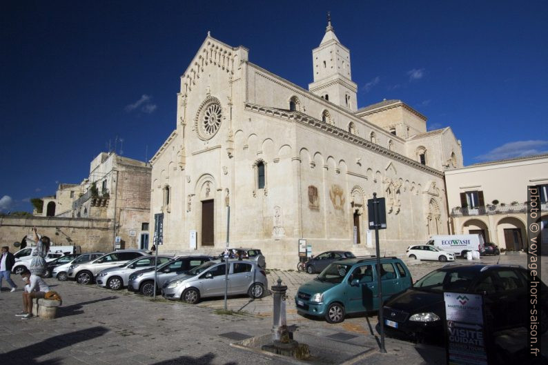 La Cathédrale de Matera. Photo © André M. Winter