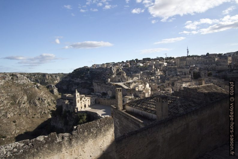 Les gorges de la Gravina à l'est de Matera. Photo © André M. Winter