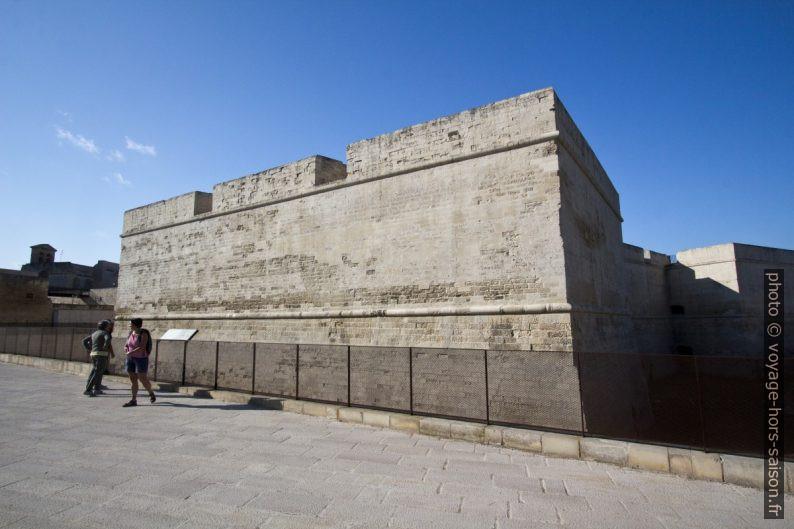 Castello Carlo Quinto di Lecce. Photo © André M. Winter