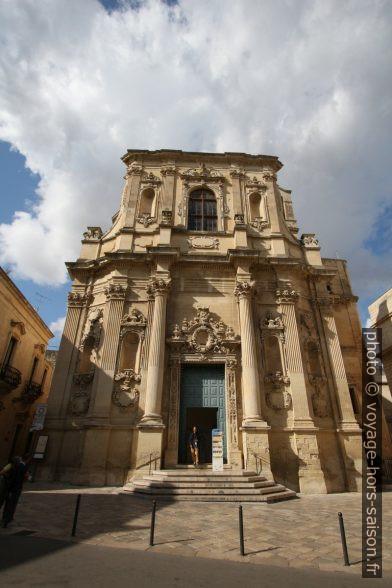 Chiesa di Santa Chiara di Lecce. Photo © André M. Winter
