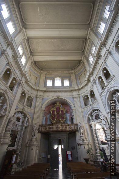 Nef de la Chiesa di San Matteo di Lecce. Photo © André M. Winter