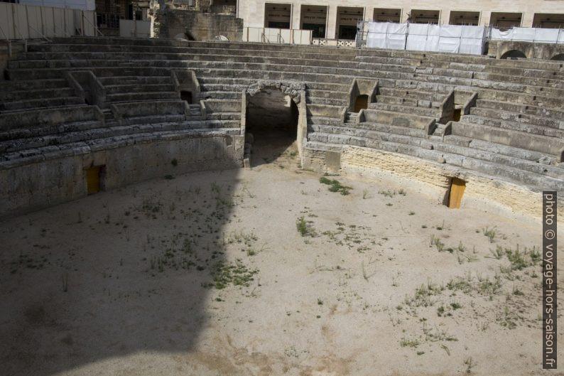 L'Amphithéâtre Romain de Lecce. Photo © André M. Winter