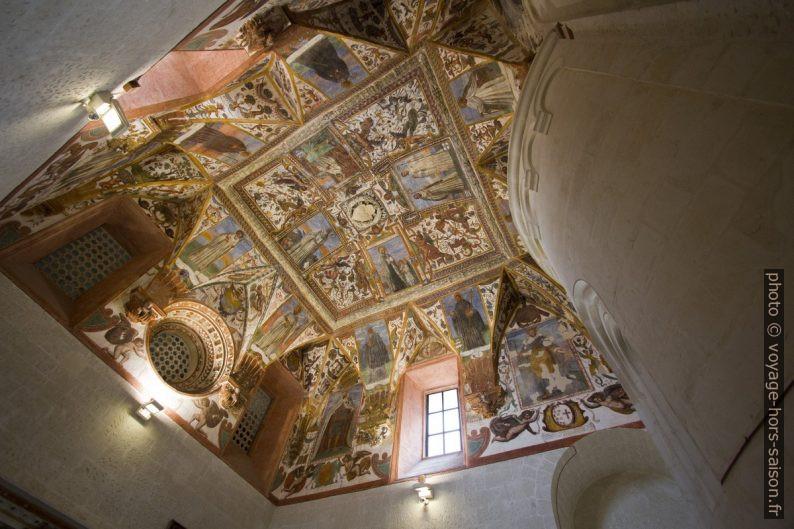 Fresques des voûtes de la sacristie de la Chiesa dei Santi Niccolò e Cataldo. Photo © André M. Winter