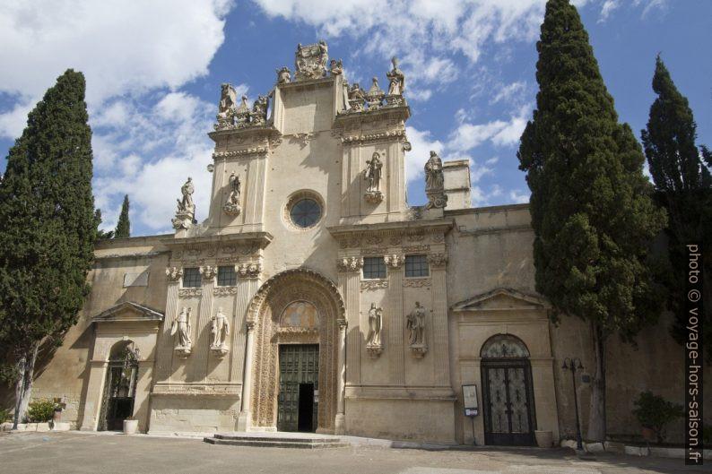 Chiesa dei Santi Niccolò e Cataldo di Lecce. Photo © André M. Winter