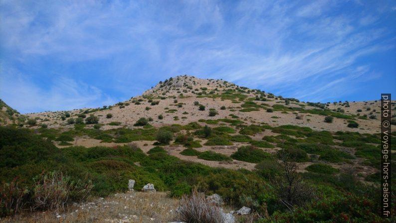 Colline au sud du Massif de Gargano. Photo © André M. Winter