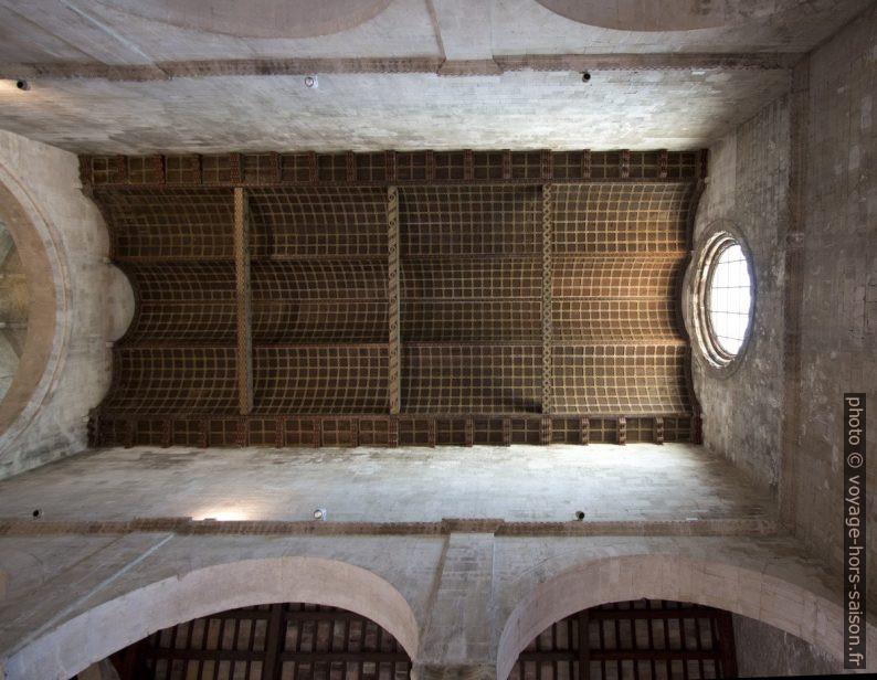 Plafond de la nef de la cathédrale d'Ancône. Photo © André M. Winter