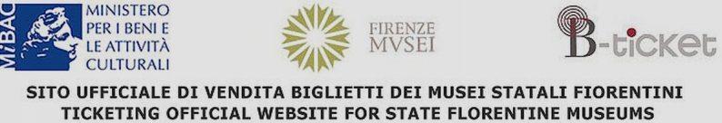 Bannière de la vente en ligne officielle de la Galerie des Offices en 2020