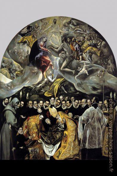 El Greco - L'Enterrement du comte d'Orgaz - 1588