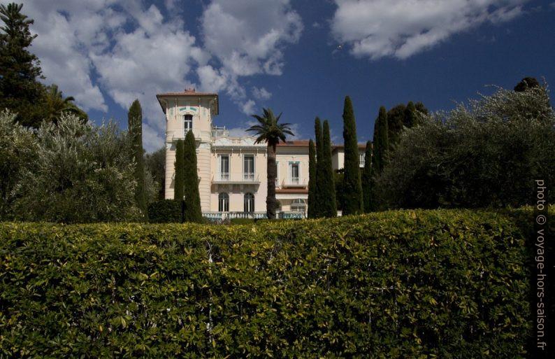 Une villa ancienne de l'Avenue Claude Vignon. Photo © André M. Winter