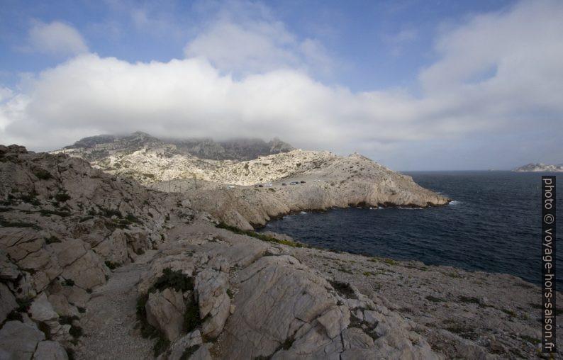 Côte nord du Passage des Croisettes. Photo © André M. Winter