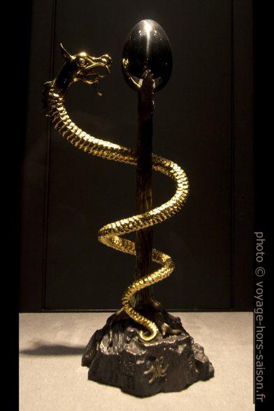Caducée II - Dalí - 1982 - sculpture. Photo © André M. Winter
