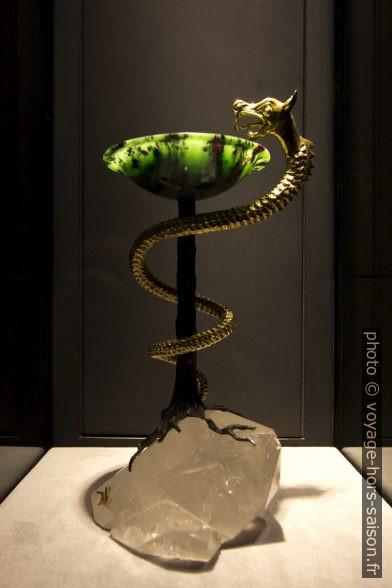 Caducée I - Dalí - 1982 - sculpture . Photo © André M. Winter