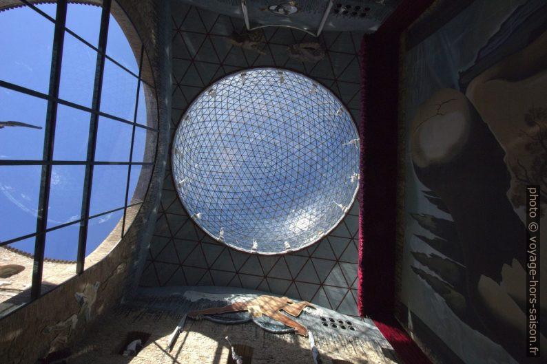 Dôme de verre du Théâtre-musée Dalí. Photo © André M. Winter