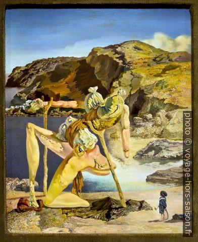 Le spectre du Sex-Appeal - Dalí - 1934. Photo © André M. Winter