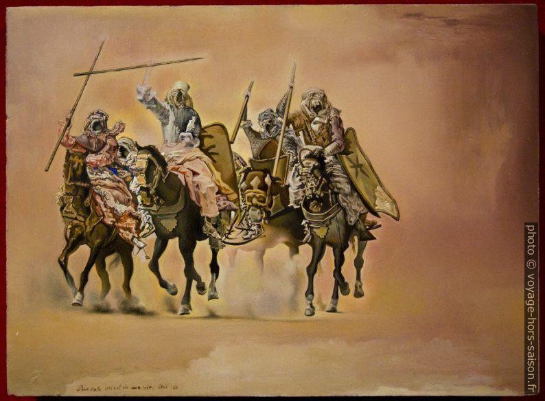 La bataille de Tétouan - Dalí - 1962 - étude. Photo © André M. Winter