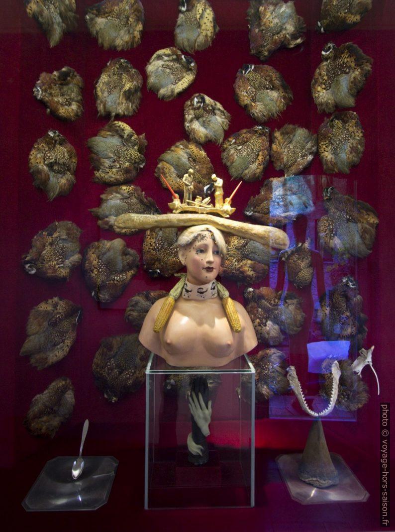 Buste de femme rétrospectif - Dalí - sculture - 1977. Photo © André M. Winter