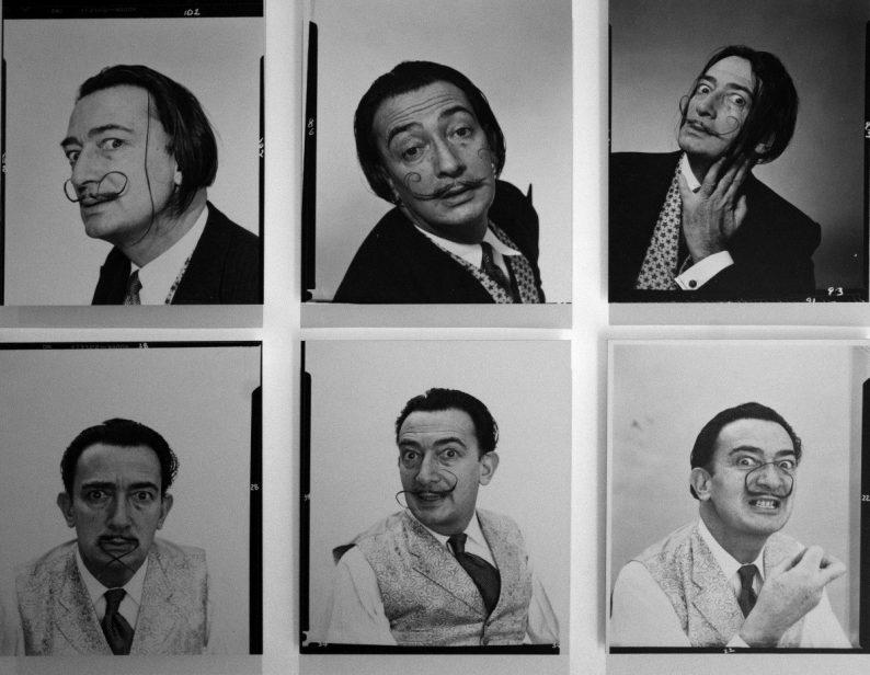 Série Dali's mustache - Philippe Halsman