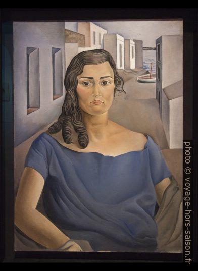 Portrait de ma sœur - Dalí - 1925. Photo © André M. Winter