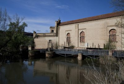 Ancien moulin à eau de la Fábrica de Armas de Tolède. Photo © André M. Winter