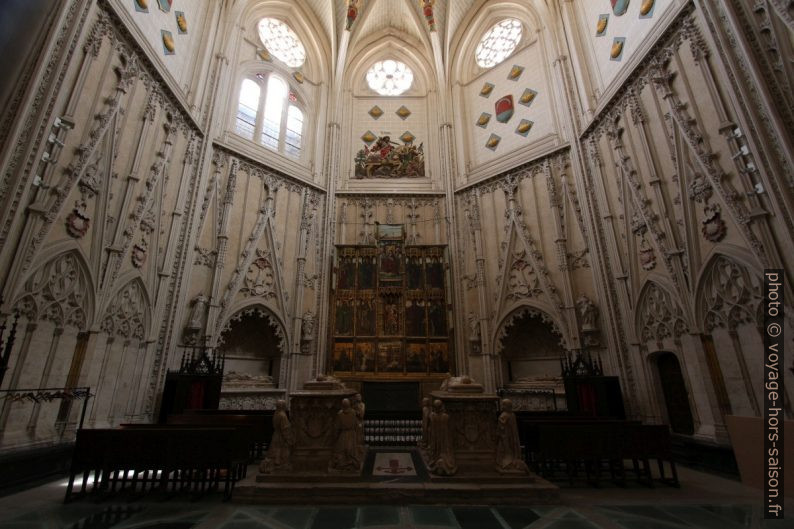 Capilla de Santiago de la Catedral de Toledo. Photo © André M. Winter