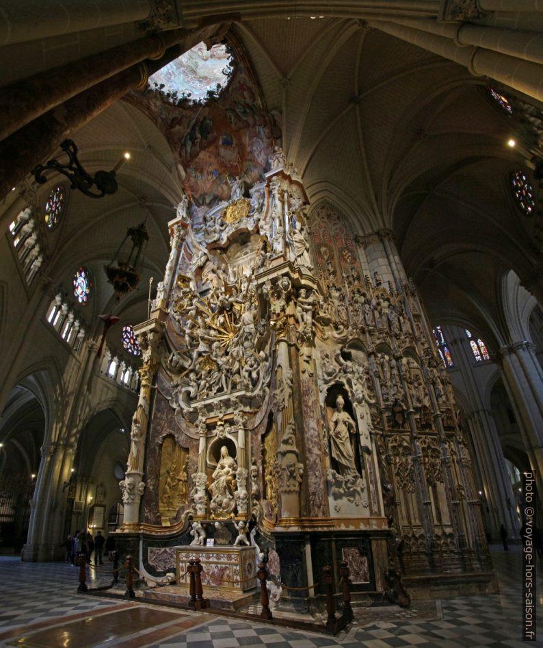 El Transparente de la Cathédrale de Tolède. Photo © André M. Winter