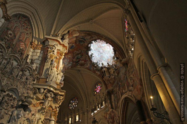 Déambulatoire de la Cathédrale de Tolède. Photo © André M. Winter
