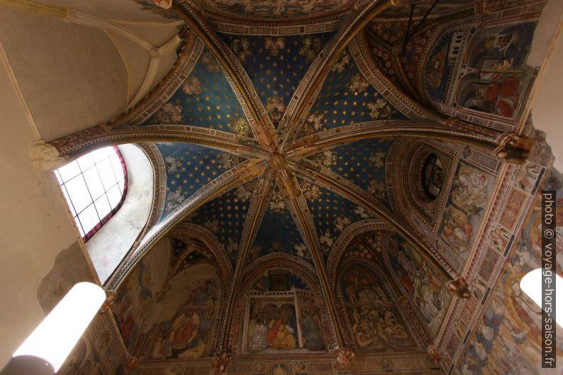 Coupole de la Capilla de San Blas de la Cathédrale de Tolède. Photo © André M. Winter