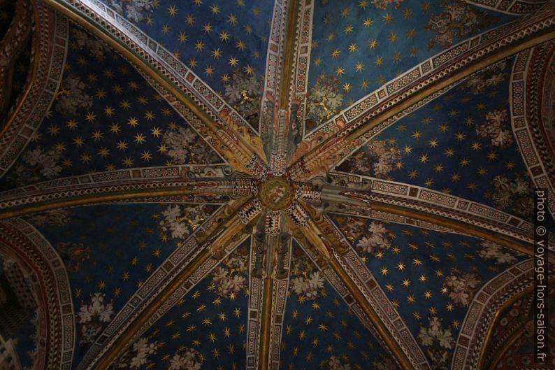 Coupole peinte de la Chapelle Saint Blaise de la Cathédrale de Tolède. Photo © André M. Winter