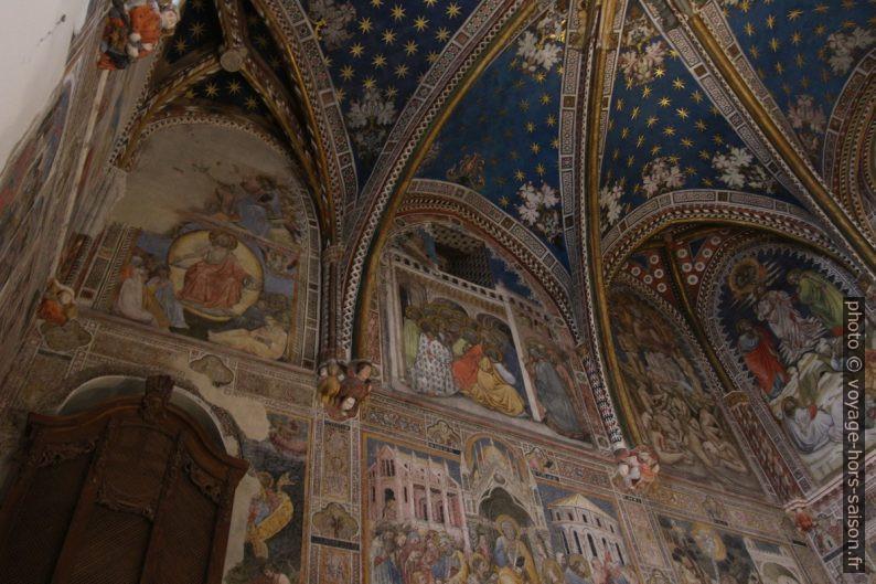 Peintures de la Chapelle Saint Blaise de la Cathédrale de Tolède. Photo © André M. Winter